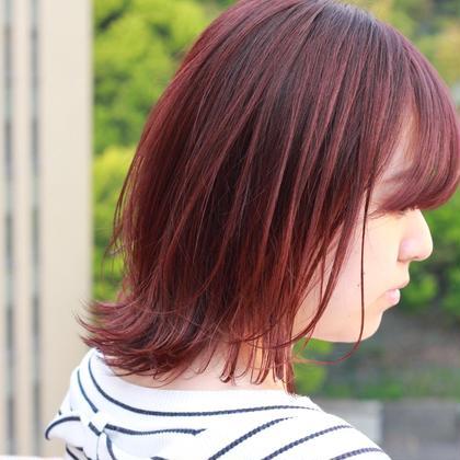 【新規の方限定】特別キャンペーン☆前髪カット+カラー+2ステップトリートメント
