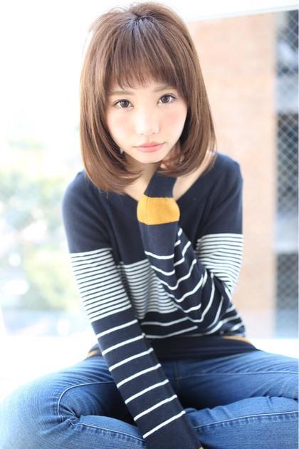 低温縮毛矯正+カット ¥7900