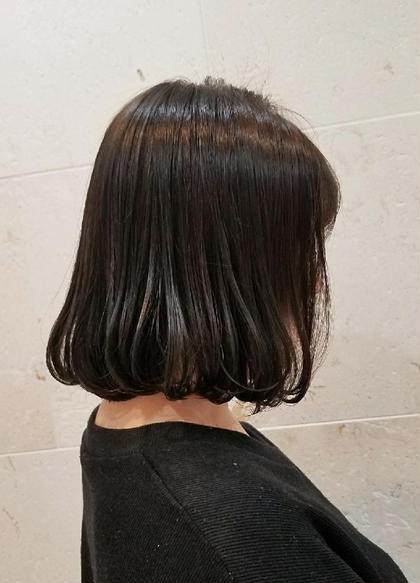 カラー ショート «大人のうる艶髪💕» ラベンダーアッシュ💎💎💎