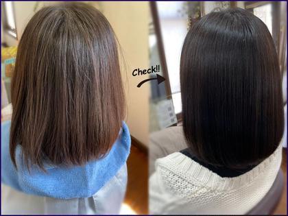 🔴️最高級髪質改善メニュー🔴似合わせカット×透明感カラー×髪質改善プレミアムトリートメント×炭酸泉