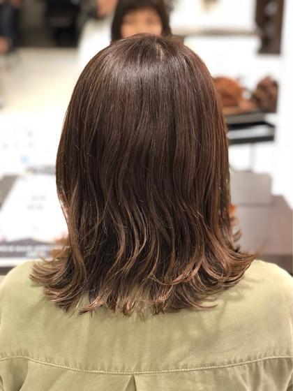 AMAZING HAIR 美沢店所属の五十嵐 萌香のヘアカタログ
