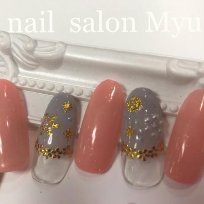 nail salonMyu所属のMyuスタッフ天神店ネイルのネイルデザイン