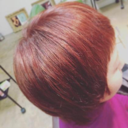 コーラルピンク☆ 個性を引き立たせるカラーです(*´˘`*)♡ Botanica所属・清田健太朗のスタイル