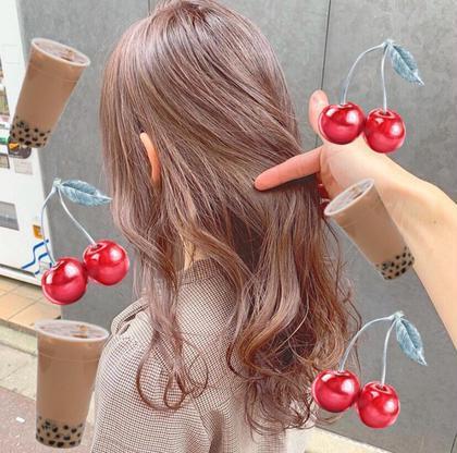 髪に優しいダブルカラー🎨ファイバープレックス(ケアブリーチ)+炭酸spa🎨