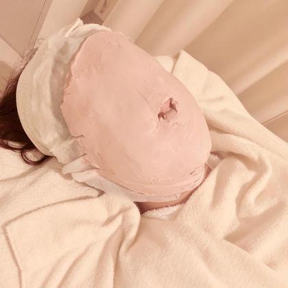 👍速攻小顔ケア👍小顔になりたい人必見!温かい石膏マスクでフェイスラインをスッキリ✨✨毛穴もきゅっと引き締めます!