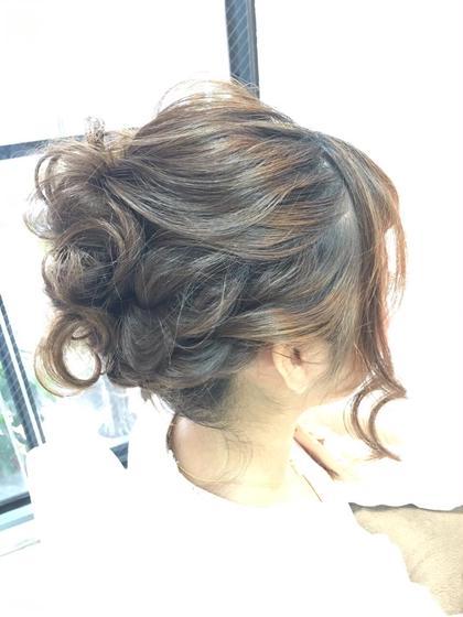 パーティーアップ  編み込みアレンジスタイル L'heureux(ルルー)所属・hair salonL'heureuxのスタイル