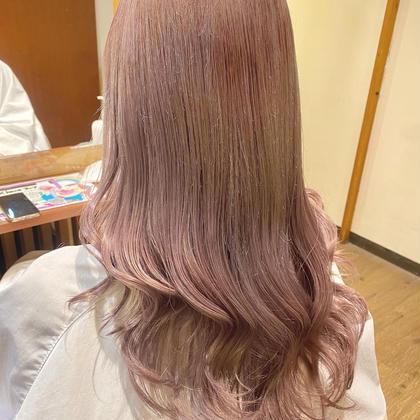 🌈ずっと触っていたくなる髪へ❤️ダメージ軽減&色持ち抜群高彩度イルミナカラー&グローバルミルボントリートメント😌✨