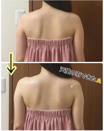 【美整骨セラピー☘️天使の羽】 . 背中のコリがバストアップの邪魔を . している場合が少なくありません😭 . ミラクルバストは肩甲骨に張り付いた . 筋膜をはがしながら、肩甲骨の位置を整え、 . 背中に流れたお肉をバストへ戻していきます😆😆⤴︎⤴︎⤴︎ . =背中美人+バストアップ‼️ . . . #beauty  #fashion #followme #instagood #beaustagrammer #smile #姿勢美人  #美容好きな人と繋がりたい  #綺麗になりたい #キレイになりたい #二の腕痩せ  #脇肉バストへ #美乳 #谷間できる #骨格矯正 #姿勢改善 #ボディメイク #細胞活性化 #名古屋エステ  #バストケア #バストアップ  #ミラクルバスト #ミラクルバスト名古屋Heart  #ポールシェリー名古屋Heart #ルビーセル #ルビーセル名古屋Heart #エステサロン名古屋Heart #背中ケア  #背中美人