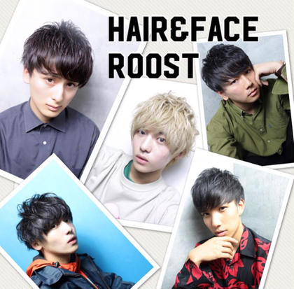 hair&face ROOST河原町店所属の中川幸太