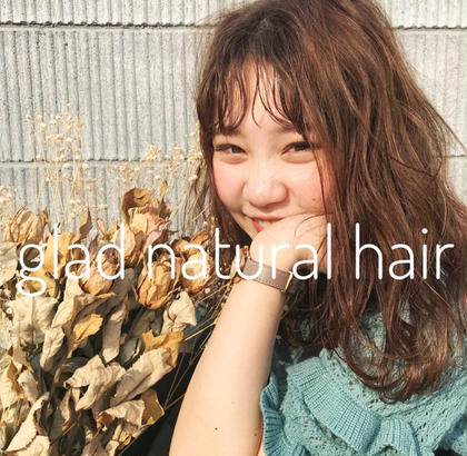 GLAD natural hair所属の河田海陽