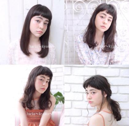 hair &makelucia〜kyoto〜京都四条烏丸店所属のhair&makeLUCIA