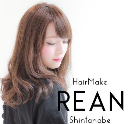 HairMakeREAN新田辺店所属の北川茅宙