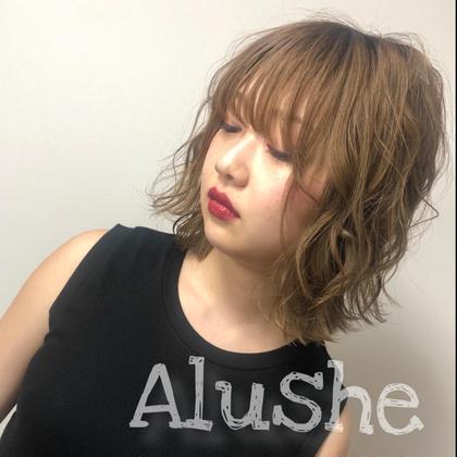 alushe銀座店所属の松本優華