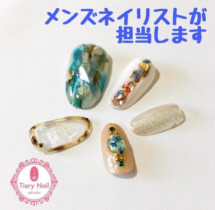 Tiarynail桜木町店所属のメンズネイリストNara