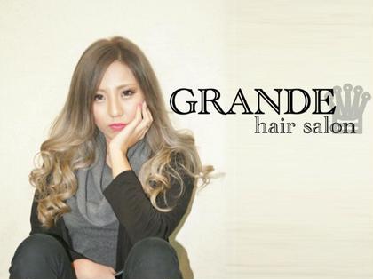 Hair Salon GRANDE所属の代表青木【GORI】or店長クラス