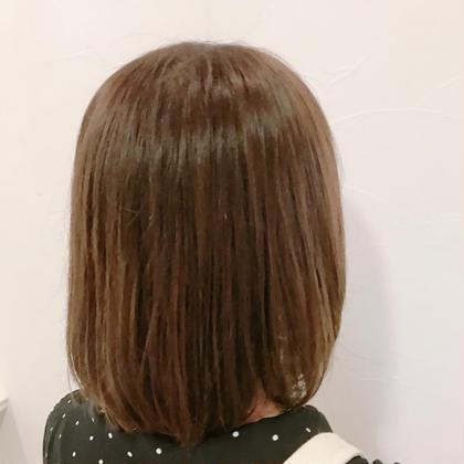 hair&beauty macaron 所属の中嶋綾夏