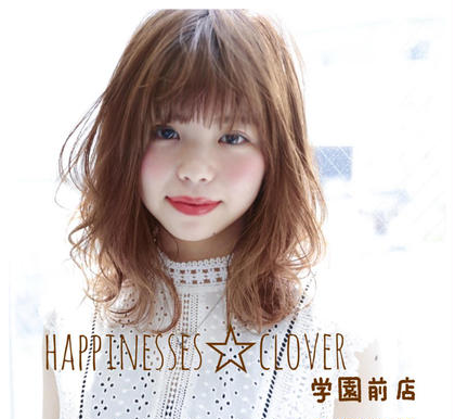 happiness clover学園前店所属の西森めぐみ