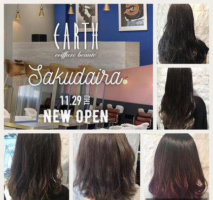EARTH coiffure beaute佐久平店所属の馬場美緑