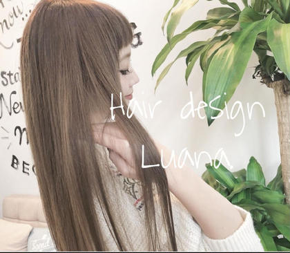 Hair design Luana.所属の細澤ほそぴーorトップスタイリスト