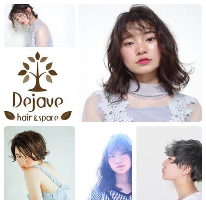 Dejave hair&space所属の富樫萌