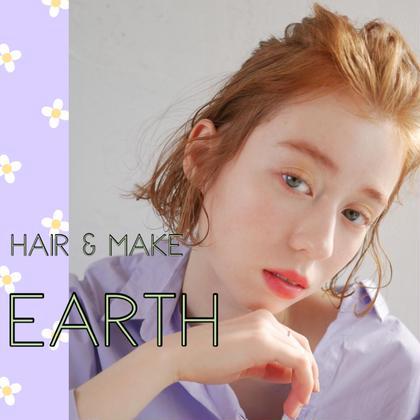 HAIR&MAKE EARTH 横浜所属の武井麻里