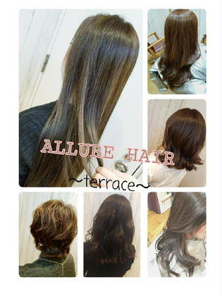 ALLURE hair~terrace~所属のALLUREKAORI