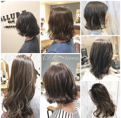 ALLURE HAIR〜terrace〜天王寺店所属の松田和樹