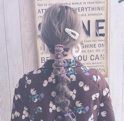 Hair&Make EARTH所属の秋葉安里菜