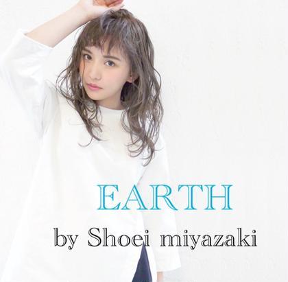 HAIR&MAKE EARTH宮崎昭栄店所属のアカミネリュウタロウ