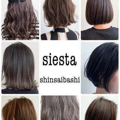 siesta所属のcheef(美容師歴13年)