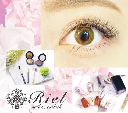 Riel〜nail&eyelash〜所属のRiel