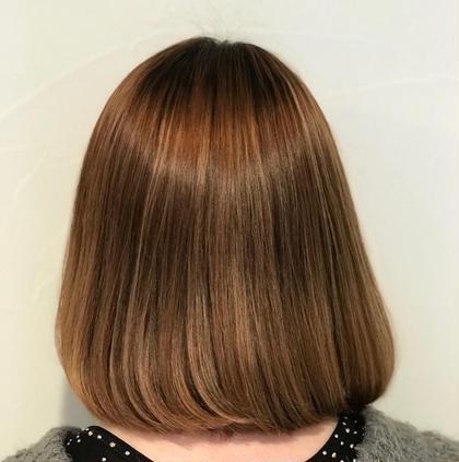hair&beauty  macaron所属の菅井麻友