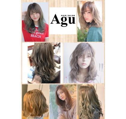 Agu hair three所属のトップスタイリスト★英山大樹