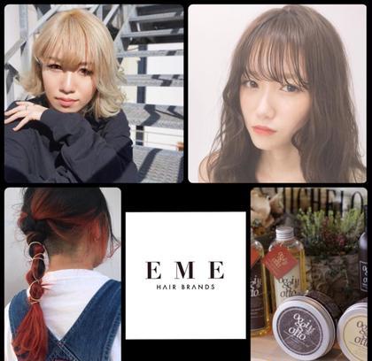 EME hair brands所属のEME_UCHIDA