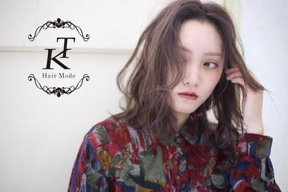Hair Mode KT京橋店所属の宮本梨子