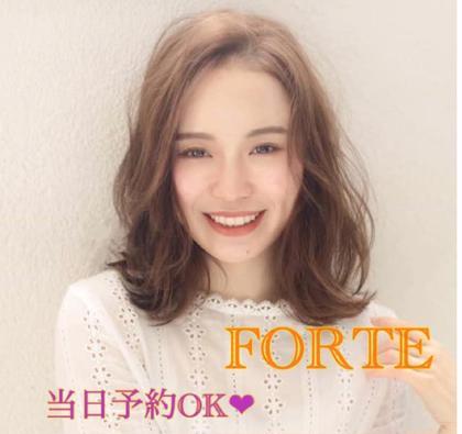 FORTEbyafloat所属の阿部紗弓