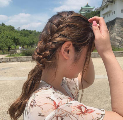 Hair Resort Asia所属のあべかなえ