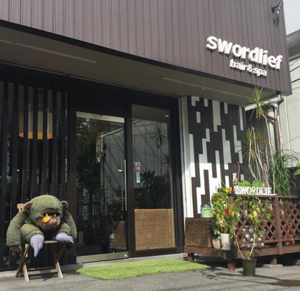 swordliefhair&spa所属の有田裕輔