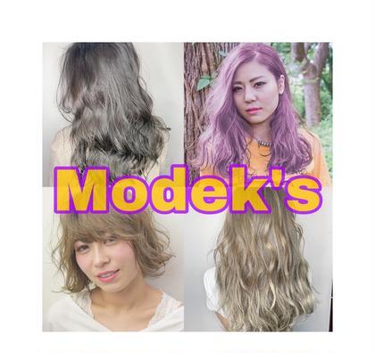 MODEK's阿倍野店所属の高岡勇希