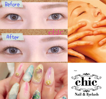 Nail&Eyelash chic所属のNail&Eyechic天文館店