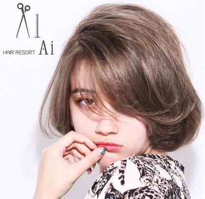 hair resort Ai 新宿西口店所属の阿部可奈子