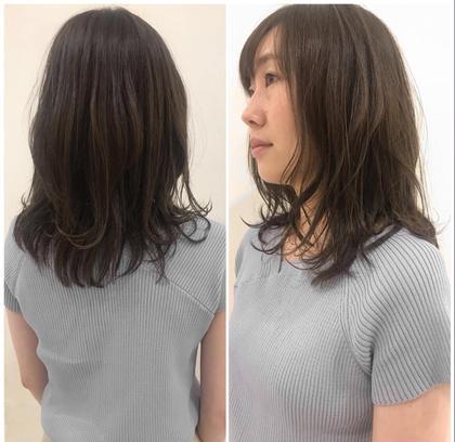 美容室モリオフロムロンドン所属の庄嶋彩香