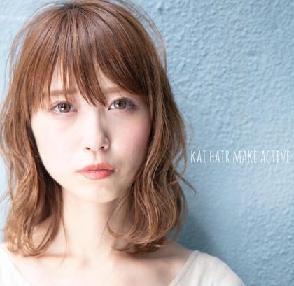 Kai hair make active所属の坂東秀幸