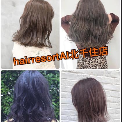 hair resort AI所属の黒田杏奈