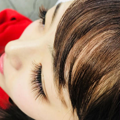 and C hairdesign 所属のand C☆アイラッシュ