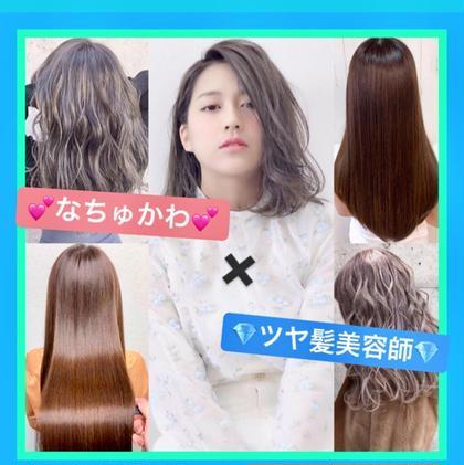 【🧞♂️艶髪透明感抜群カラー🧞♂️】Letizbyone's所属のなちゅかわ艶髪美容師💎TAKUTO💎