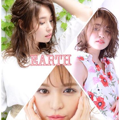 Hair&Make EARTH三田店所属のトップスタイリスト藤平健太