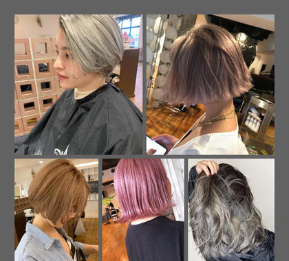 Hair Musee柱店所属のブリーチカラー 岡田毅也