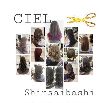 CIELShinsaibashi☆所属のStylist友久裕佳子