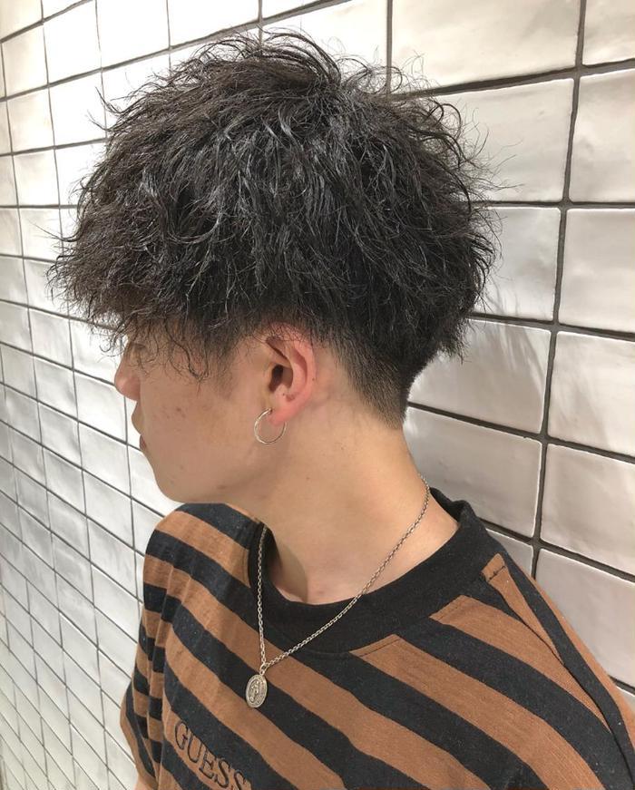 髪の毛 パーマ メンズ